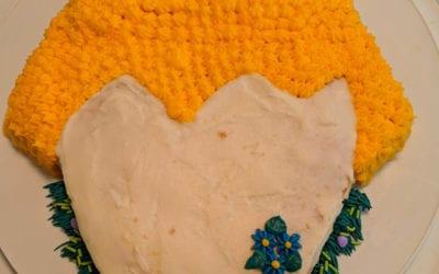 Make A Chicken Themed Cake