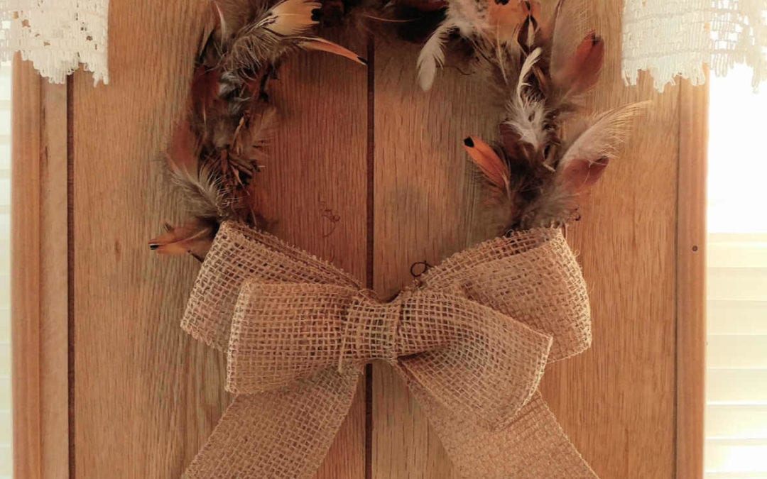 Meyer Makes – Fall Molt Feather Wreath