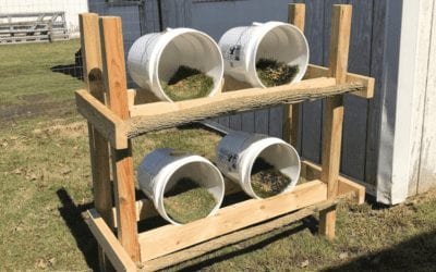 How to Turn 5 Gallon Buckets into Nesting Boxes