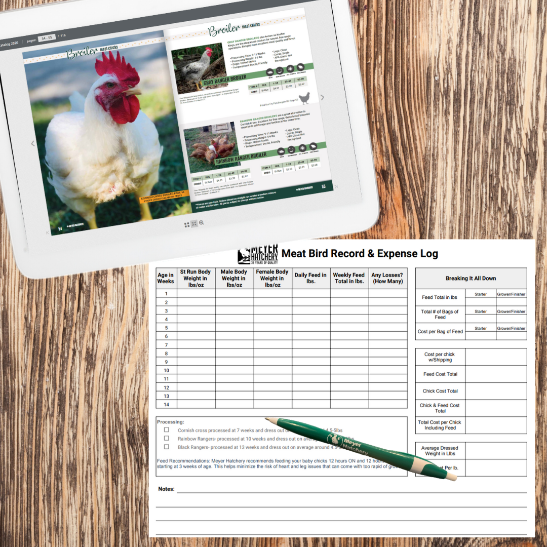Poultry Cut List | Meyer Hatchery