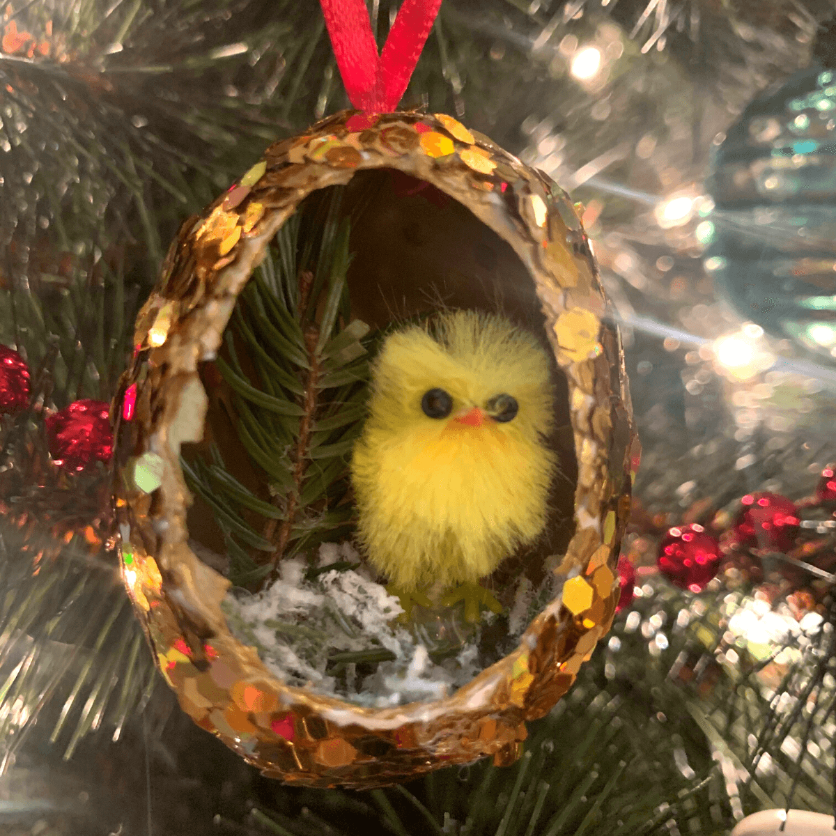 Chicken Themed Ornament Blog