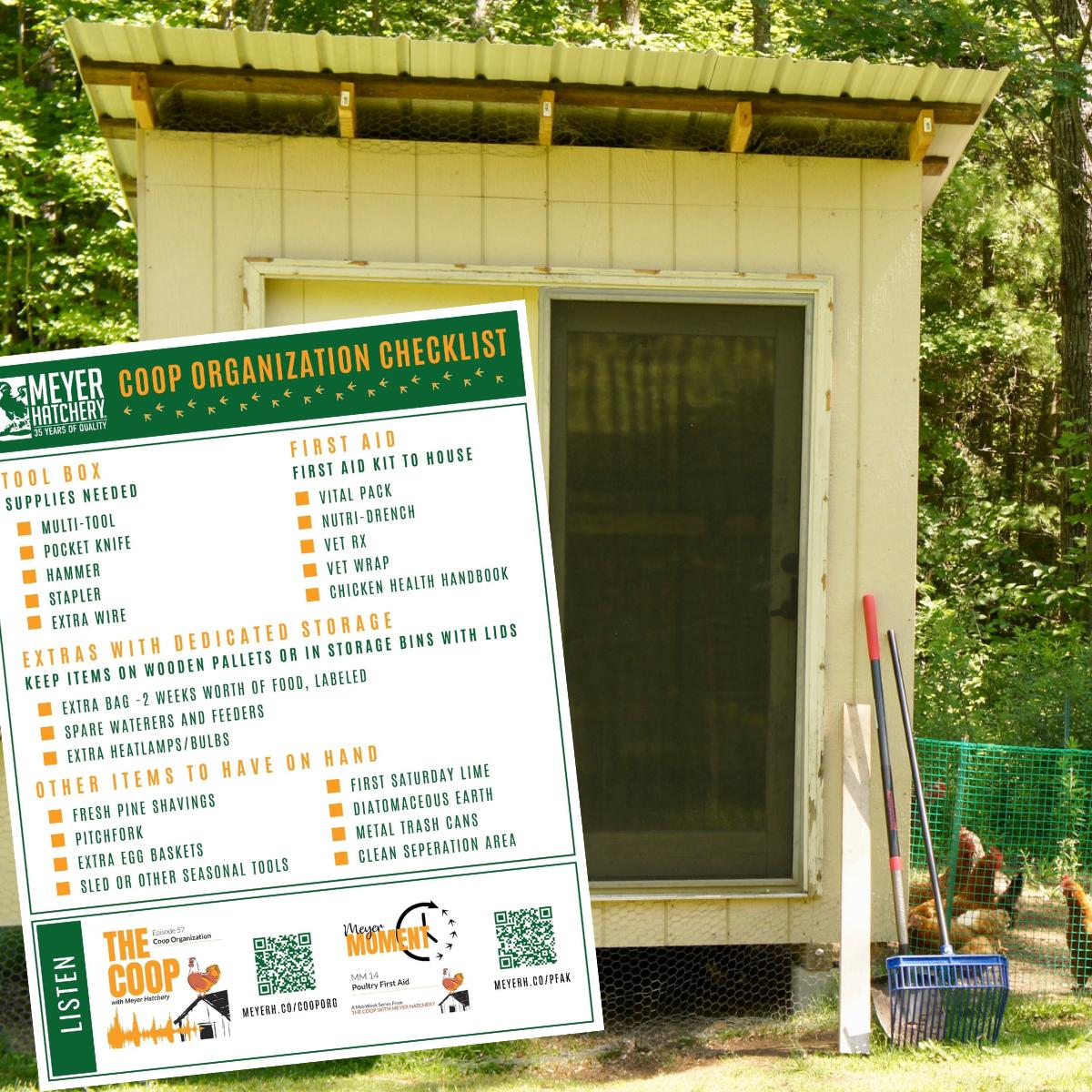 Chicken Coop Checklist