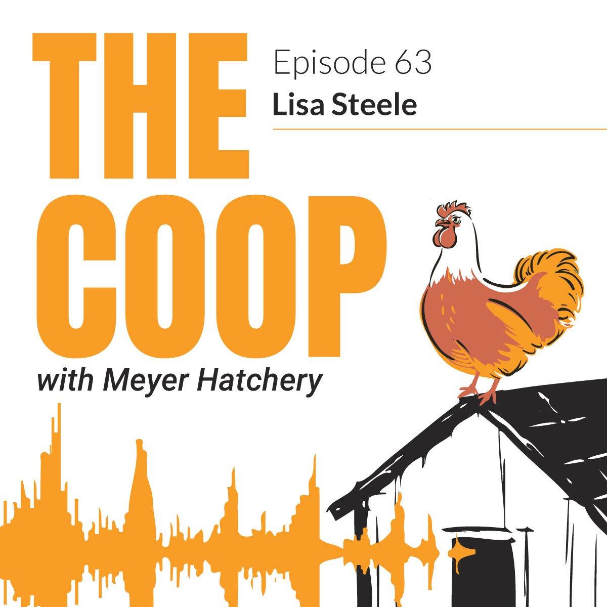 Lisa Steele on The Coop Podcast