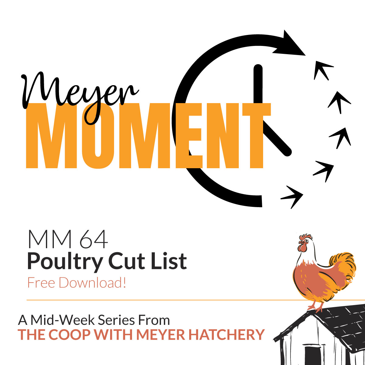 Meyer Moment 64 - Poultry Cut List | The Coop Podcast